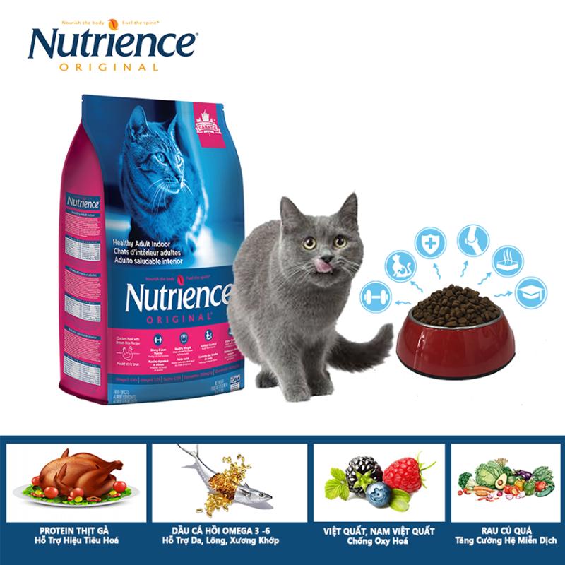 Thức Ăn Cho Mèo Trưởng Thành Nutrience Original - Thịt Gà, Rau Củ Và Trái Cây Tự Nhiên