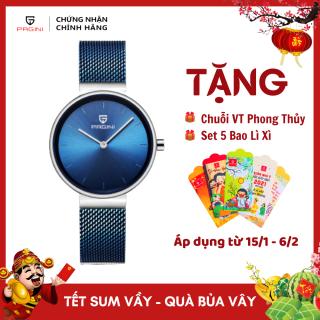 Đồng Hồ Nữ PAGINI Sang Trọng Thời Trang - Dây Titanium Cao Cấp thumbnail