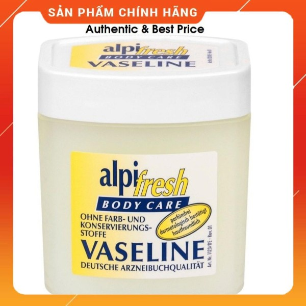 Kem Dưỡng Thể Vaseline Alpi Fresh Body Care 125ml