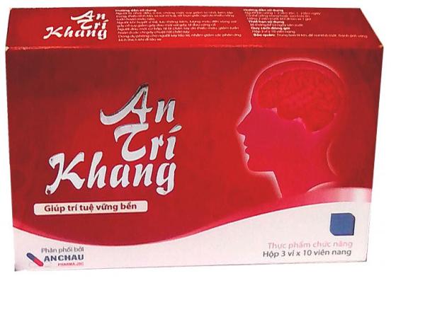 An Trí Khang – Hỗ trợ giúp hoạt huyết và tăng tuần hoàn máu não