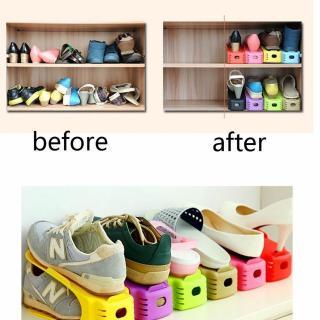 Bộ 5 đế để giày tiết kiệm diện tích giá rẻ (Màu ngẫu nhiên) thumbnail