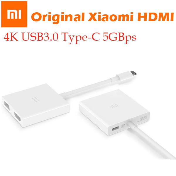 Bảng giá Giắc chuyển đổi Original Xiaomi USB-C sang HDMI đa chức năng 4K 1080P HDTV USB 2.0