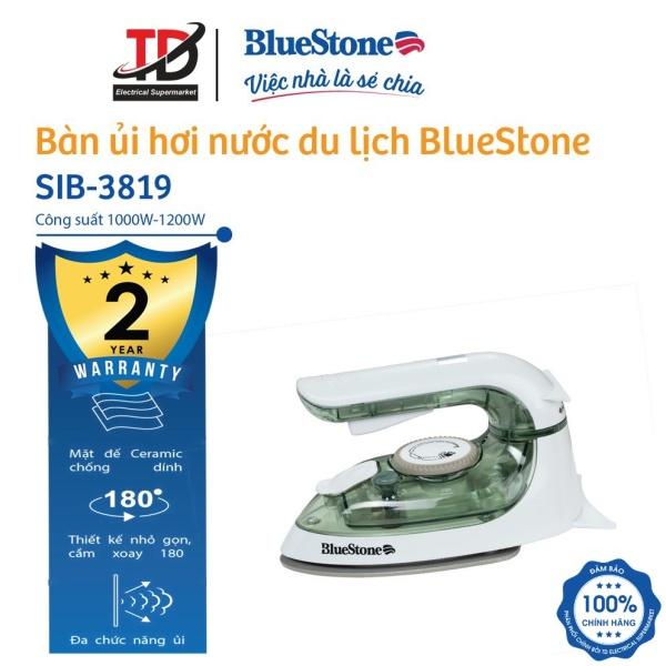 Bàn ủi hơi nước mini BlueStone SIB-3819 (1200W) - thiết kế nhỏ gọn, dễ dàng mang theo và cất giữ