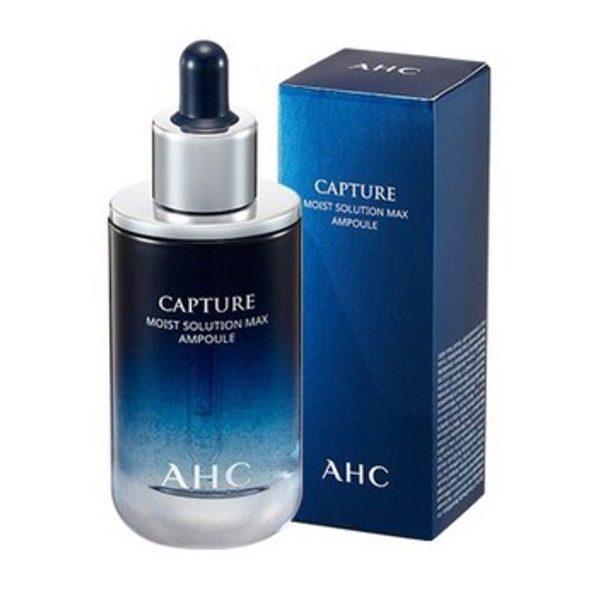 SERUM AHC CAPTURE WHITE SOLUTION MAX AMPOULE 50ML (Xanh : Cấp ẩm-sáng da)