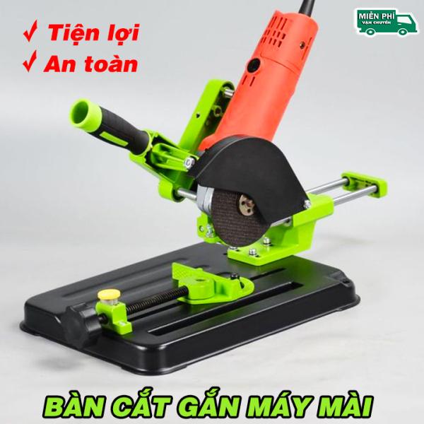 Bàn Gắn Máy Mài Thành Bàn Cắt Đa Năng Có Thanh Kéo Di Chuyển Tiện Lợi - Khung Gắn Đế Kẹp Máy Mài - Khung đế kẹp máy mài thành máy cắt bàn - Đế Kẹp Máy Mài Cầm Tay - Giá đỡ máy mài cầm , chuyển đổi thành máy cắt bàn