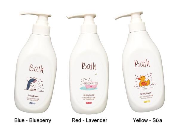 Sữa Tắm Bath Joeeyloves 500ml - Dưỡng Ẩm Trắng Da Hương Thơm Quyến Rũ