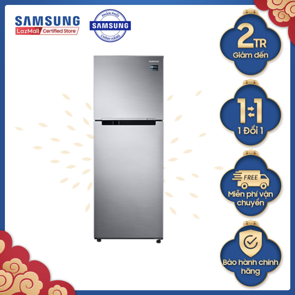(Voucher 250k) Tủ lạnh Samsung hai cửa Twin Cooling Plus 308L (RT29K5012S8)