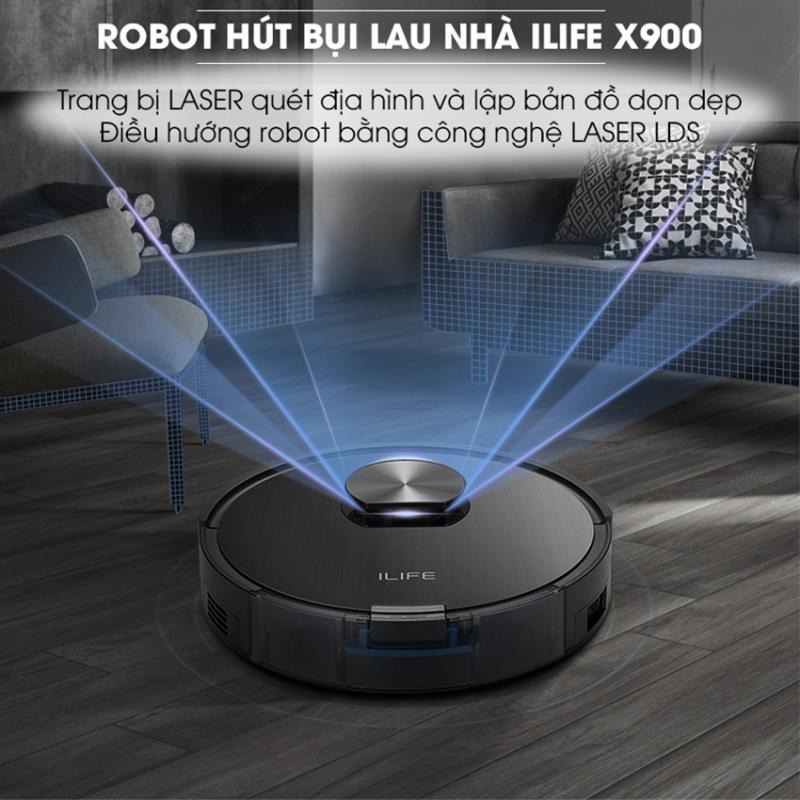 Robot hút bụi ILIFE X900