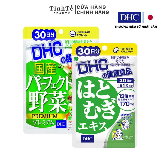 Combo Viên uống DHC Sáng hồng da 30 Ngày (Rau Củ & Adlay) giá rẻ