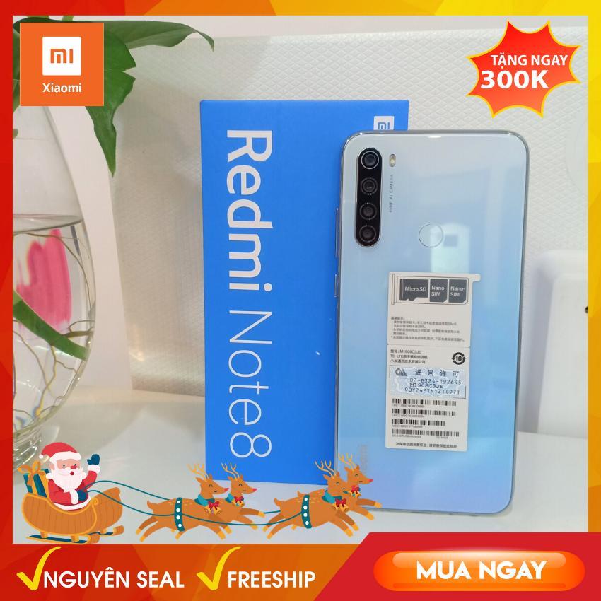 [Siêu Phẩm] Xiaomi Redmi Note 8 Ram 3gb/32gb, 4gb/64 Gb - Điện Thoại 4 Camera Siêu Nét 48MP, Snapdragon 665 Chơi Game Mượt, Pin Khủng - Giá Rẻ Bất Ngờ Bất Ngờ Ưu Đãi Giá