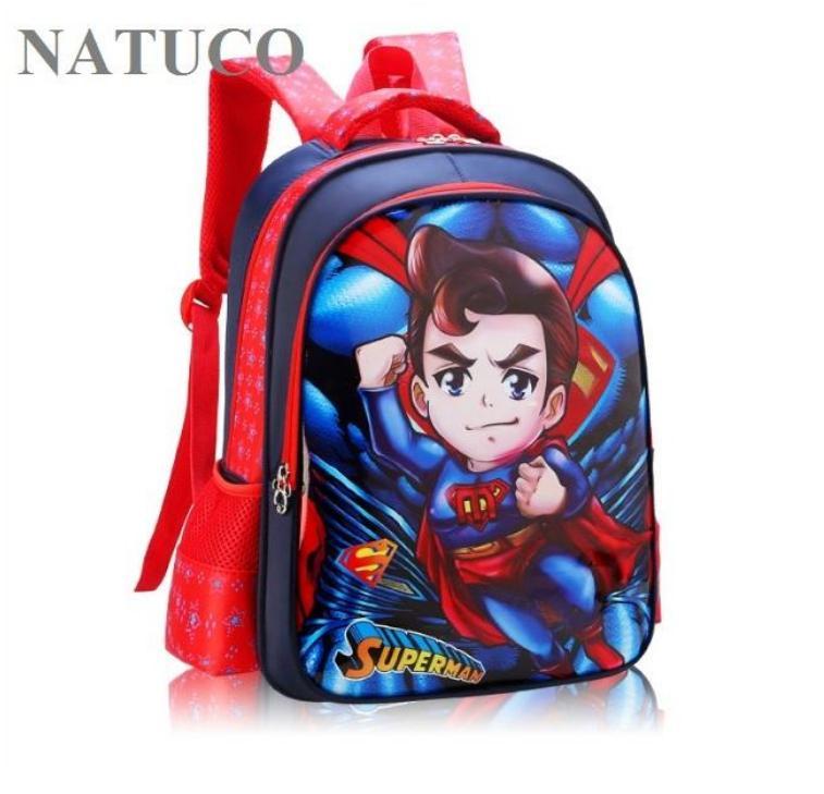 Giá bán Ba lô siêu anh hùng dễ thương cho bé mẫu giáo, học sinh cấp 1 siêu nhẹ, chống thấm nước