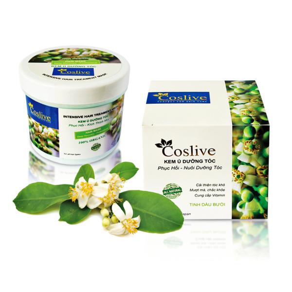 1 hộp Kem ủ dưỡng tóc tinh chất bưởi (Coslive Hydrating Hair Mask) 500gr giá rẻ