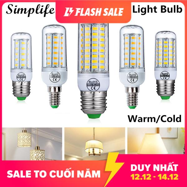Simplife Bóng đèn LED 220V E14 E27 công suất 12W 15W 18W 20W 25W tiết kiệm năng lượng trang trí nội thất giá tốt - INTL