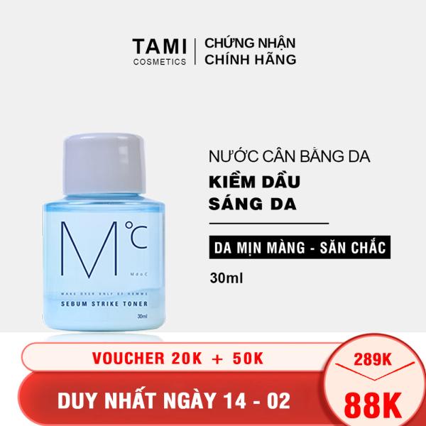 Nước cân bằng da dành cho nam MdoC Sebum Strike Toner Toner kiềm dầu  TM-MTN02
