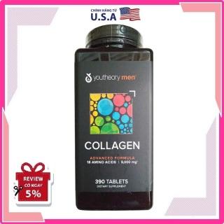 Collagen nam - Youtheory Mens Collagen type 1 2 & 3 hộp 390 viên và 290 viên thumbnail
