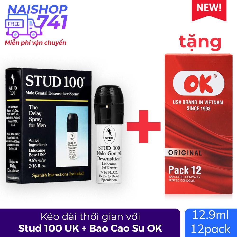 STUD 100 For Men (Chai xịt 12,9ml) chính hãng