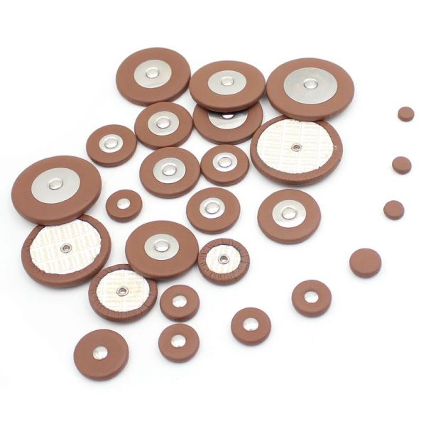 26 Pieces Sax Leather Pads Replacement for Alto Saxophone High Quality Saxophone Accessories