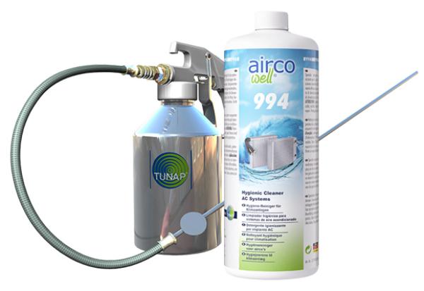 Dung dịch vệ sinh dàn lạnh điều hòa xe hơi AIRCO WELL 994