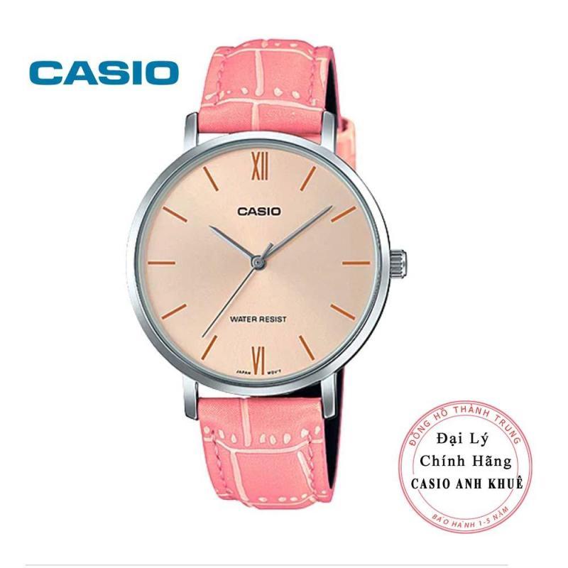 Đồng hồ nữ Casio LTP-VT01L-4B dây da