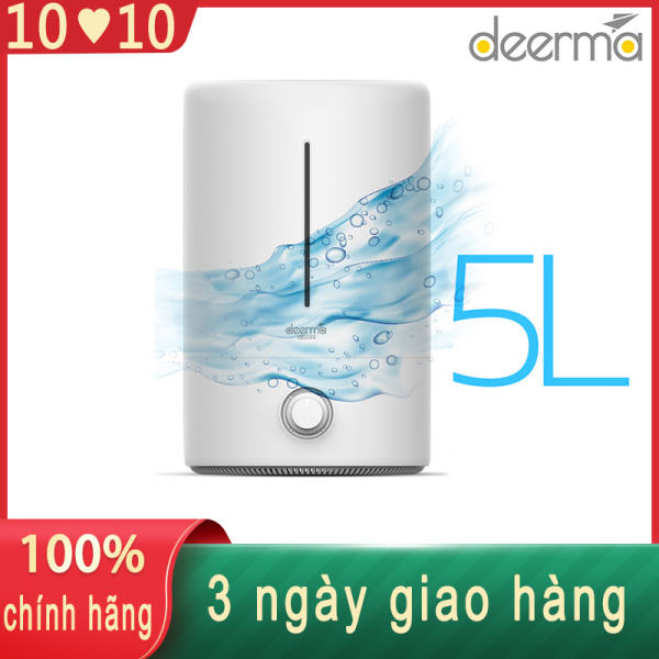 Máy tạo ẩm không khí Deerma 5L Máy tạo ẩm gia đình Máy khuếch tán bằng sóng siêu âm Liệu pháp hương thơm Humificador cho Nhà văn phòng