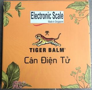 CÂN SỨC KHOẺ ĐIỆN TỬ TIGER BALM THÔNG MINH _ Made in Singapore thumbnail