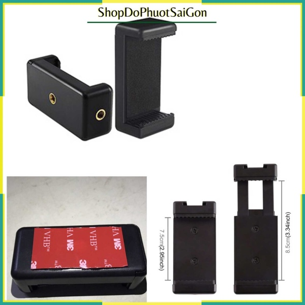[HCM]Kẹp điện thoại - Giá đỡ điện thoại dán lên đồng hồ xe máy tặng thêm 1 keo dán 3M chắc chắn