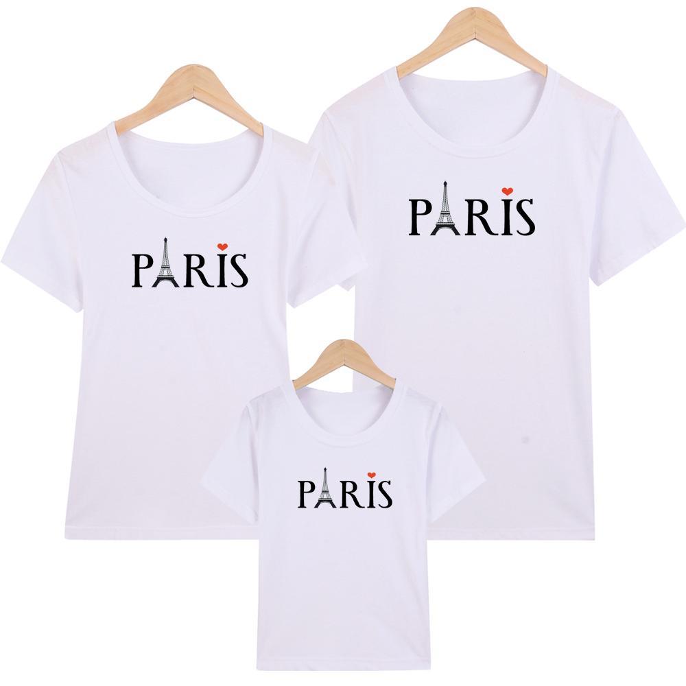 Áo thun nữ- Áo Thun Gia Đình in hình Paris form rộng hàn quốc vải dày mịn ATNK325 -Giá Trên là giá cho 1 chiếc áo