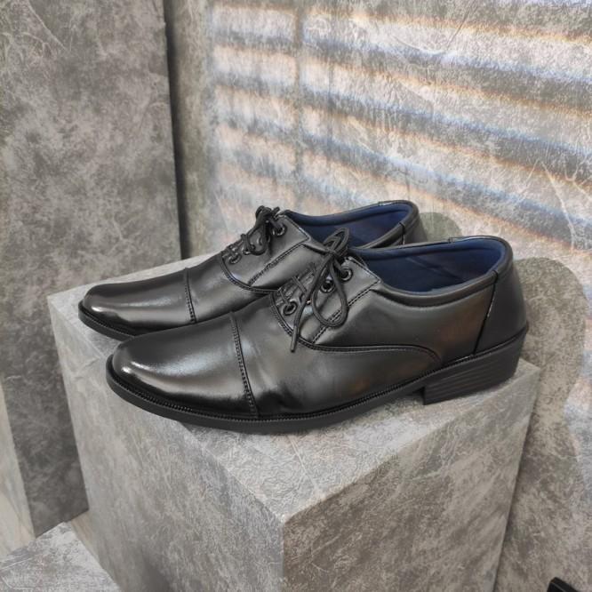 Giày tây da nam Muidoi G310 phong cách lịch lãm (Đen) giá rẻ