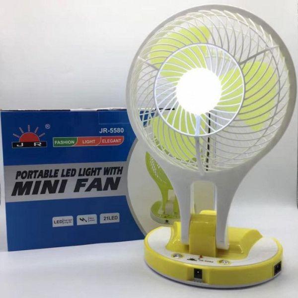 (HÀNG XỊN - GIÁ BÈO) Quạt tích điện kèm đèn led siêu sáng, Quạt sạc tích điện mini fan siêu mát, Quạt tích điện mini