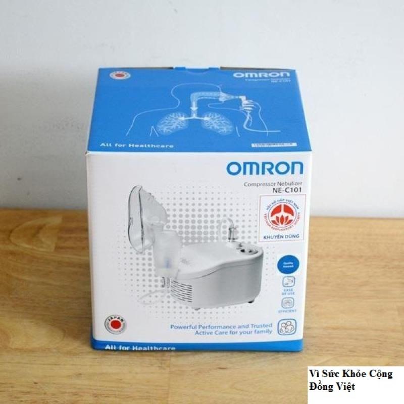 Mô tả sản phẩm Máy Xông Mũi Họng Omron NE-C101