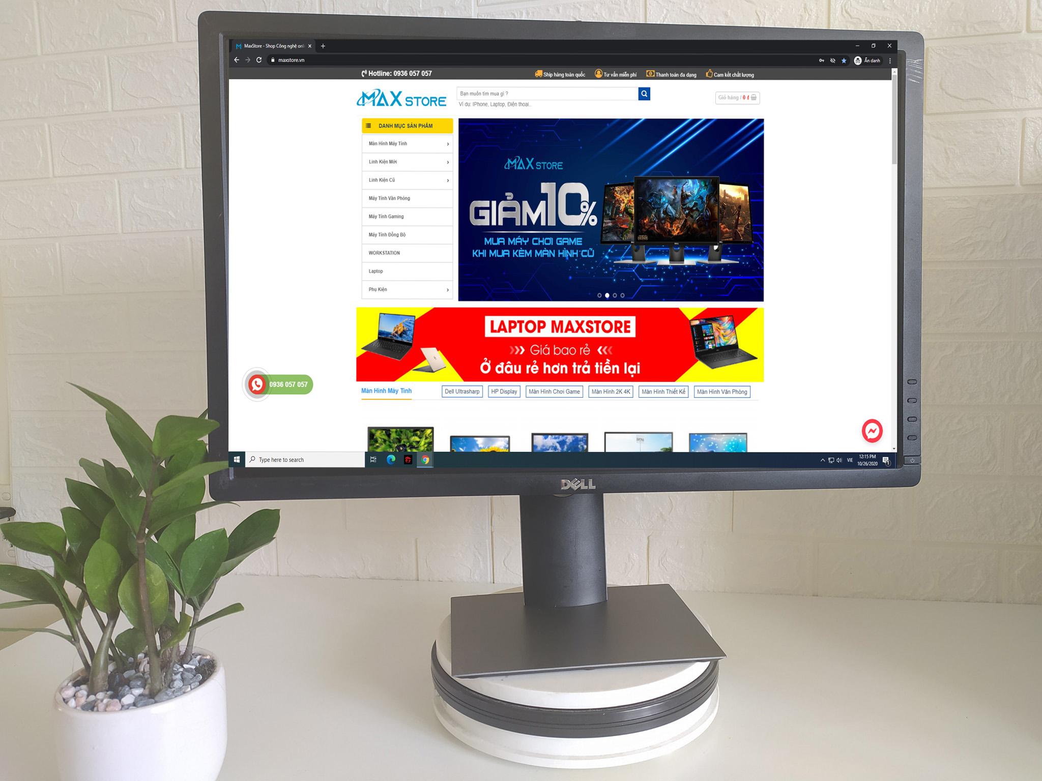 Màn hình máy tính  Dell Ultrasharp 24inch U2412 chuyên đồ họa