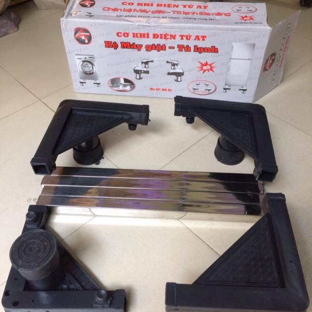 Kệ đỡ,giá đỡ chân giá để máy giặt tủ lạnh inox đa năng - Hàng Việt Nam
