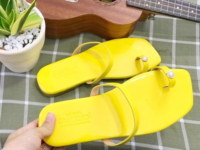 Dép nữ xỏ ngón chân quai mảnh ngang bigsize ngoại cỡ size 33 đến 43-12025 giá rẻ