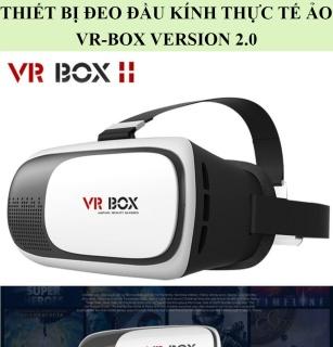 Kính Thực Tế Ảo Giá Rẻ Hấp Dẫn-Xem Phim 3D Gay Cấn-Thiết Bị Đeo Đầu Thực Tế Ảo VR-Box Version 2.0 Siêu Nét-Hàng Nhập Khẩu-Nút Bấm Bố Trí Thông Minh-Dễ Dàng Sử Dụng-Hình Ảnh Chân Thực Sống Động-Khả Năng Tích Hợp Cao-Siêu Nét. thumbnail
