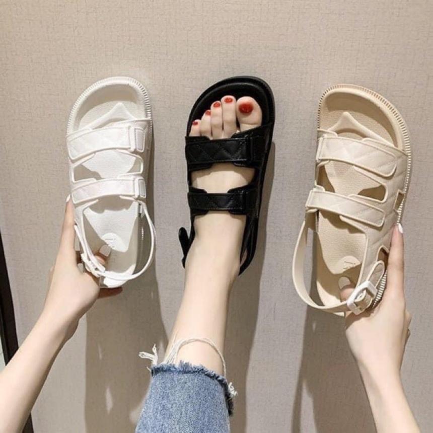 Sandal quai hậu tăng chiều cao nữ giá rẻ