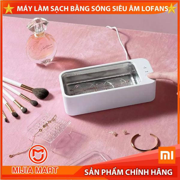 ✅Máy rửa trang sức sóng siêu âm Xiaomi, Máy làm sạch bằng sóng siêu âm Lofans.