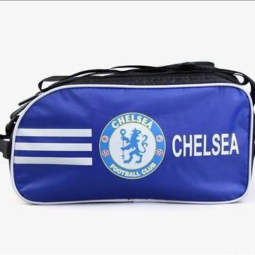 Túi đựng giày đá bóng, đá banh 2 ngăn các MU, Barca, Real, Chelsea, Arsenal đựng luôn ví tiền, điện thoại, áo quần Nhật Bản