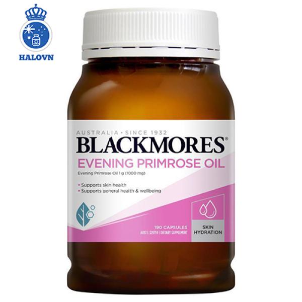Blackmores Evening primrose oil 190v Tinh dầu hoa anh thảo Blackmore Úc, hỗ trợ cân bằng nội tiết tố