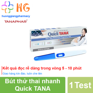 Bút thử thai Quicktana phát hiện thai sớm cho kết quả chính xác, nhanh và đảm bảo - Hộp 1 bút thumbnail