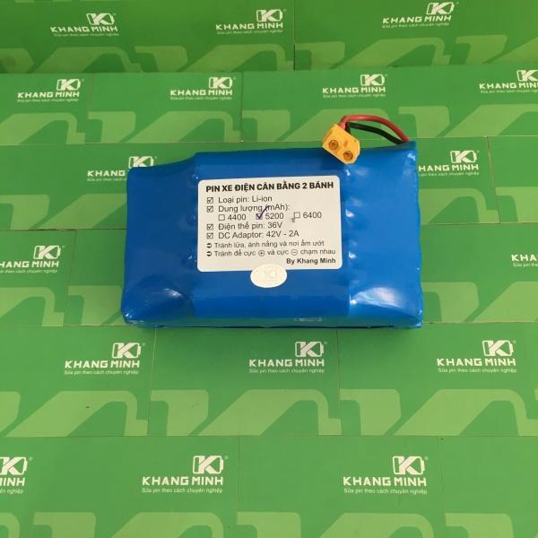 Phân phối Pin xe điện cân bằng 2 bánh 36V 5.0Ah, dung lượng cao và dòng xả chuẩn