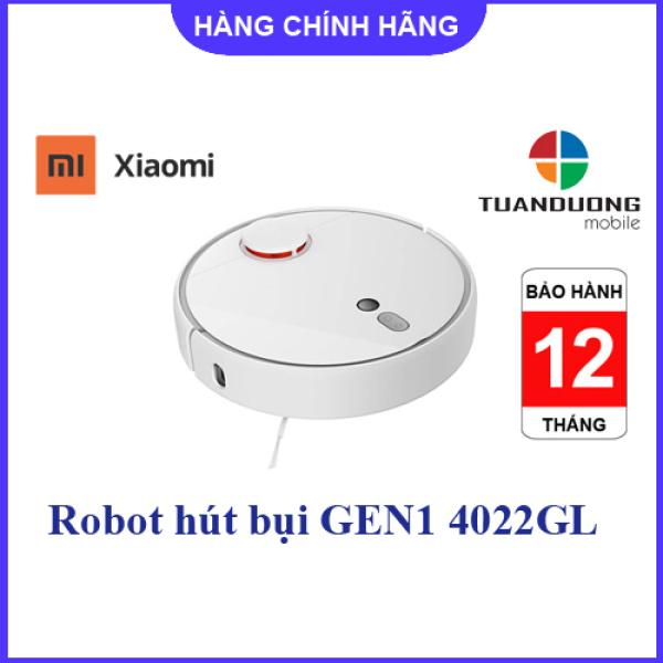 Robot Hút Bụi Dọn Nhà Xiaomi Mi Robot Vacuum Gen1 4022GL (Bảo Hành  Chính Hãng)