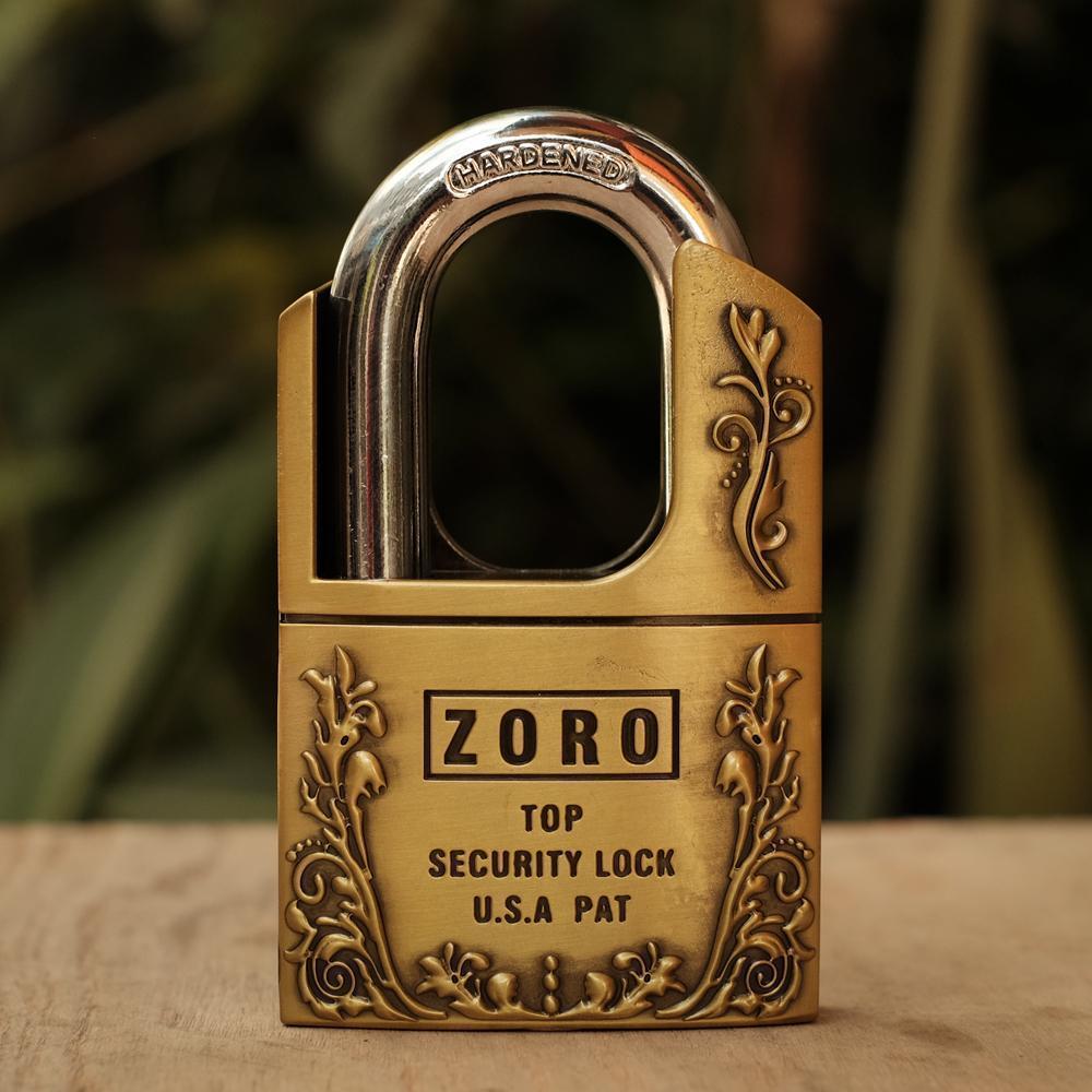 Ổ khóa cửa chống trộm chống cắt 60mm ZORO 4 chìa