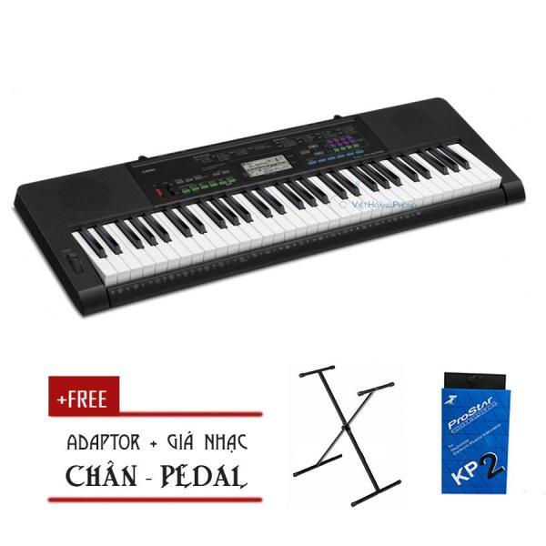 Đàn Organ Casio CTK-3400 kèm AD - Chân X + Pedal ( CTK3400) - HappyLive Shop