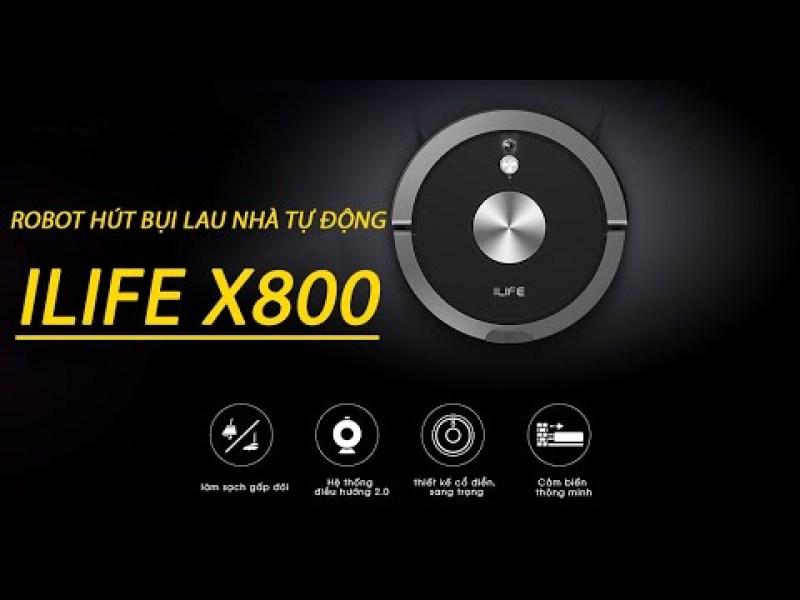 Robot hút bụi ILIFE X800