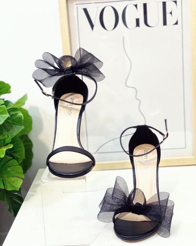 Giày sandal 9p nơ kiểu dễ thương-CG-0339 giá rẻ