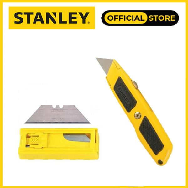 Combo Dao rọc cáp Stanley STHT10779-8 cán nhôm và Lưỡi dao rọc Stanley 11-921T
