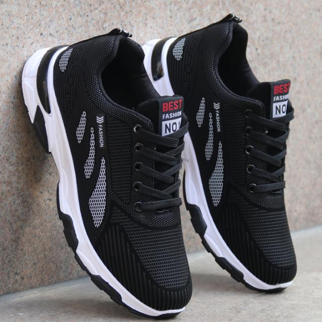 Giày thể thao nam,Giày nam,Giày thể thao nam sneaker ,Giày nam sneaker Phong Cách Hàn Quốc HOÀNG HÀ 888 - GN106 giá rẻ
