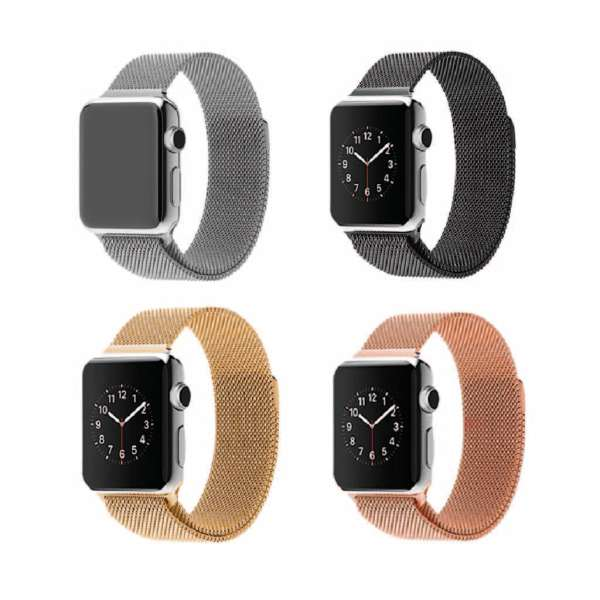 Dây Apple Watch Dây Apple Watch Thép Không Gỉ Milanese Loop Sang Chảnh - Hot Trend Series 5/4/3/2/1 - Tuấn Phụ Kiện