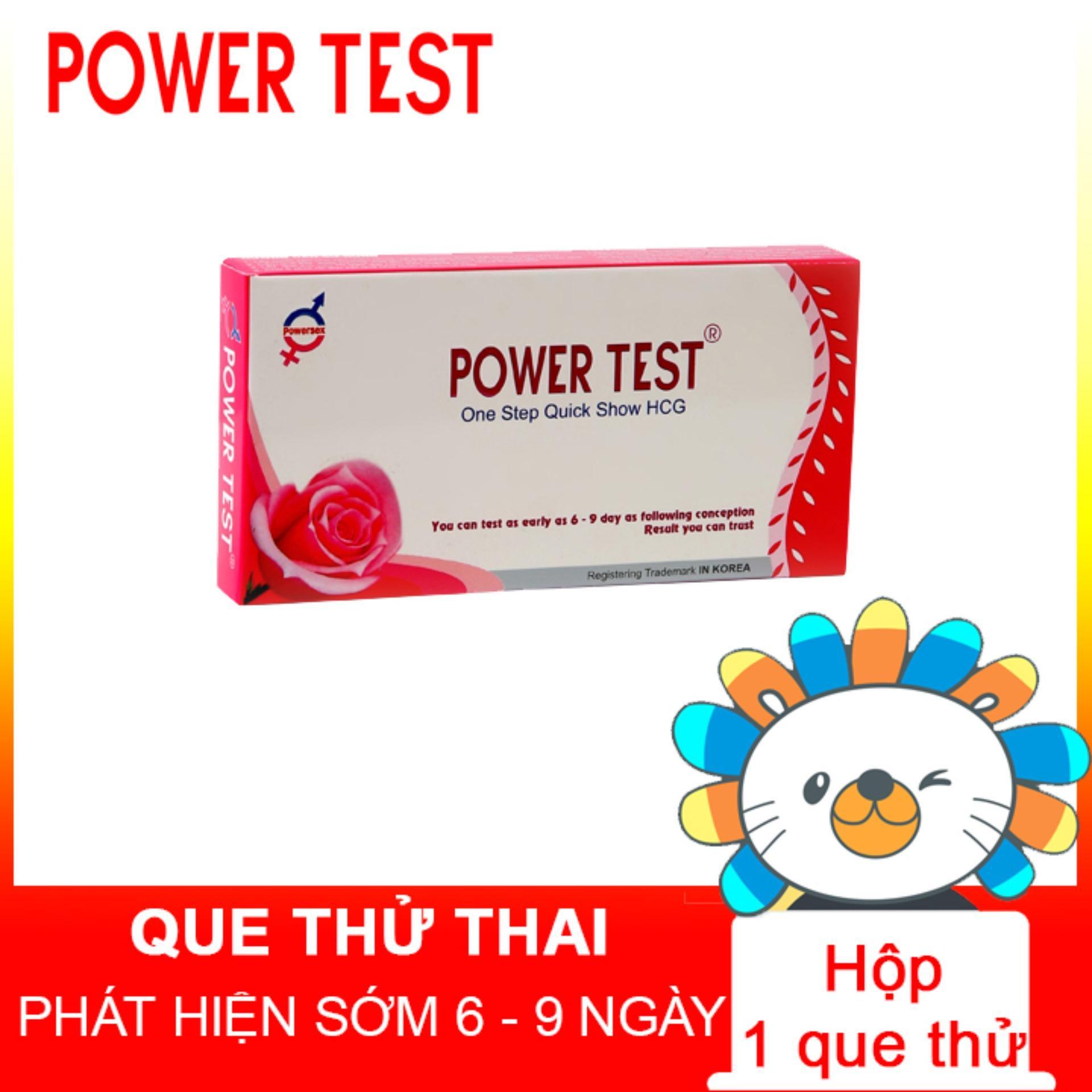 Que thử thai Powertest 3mm cao cấp