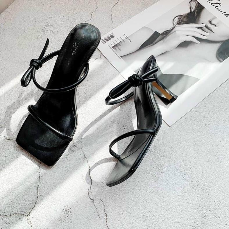 Giày cao gót nữ 7 phân quai ngang đi êm chân sang chảnh đẹp hot trend 2021 ( hàng có sẵn ) ảnh thật tự chụp giá rẻ